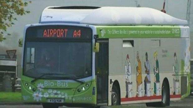 Video: Este autobús funciona con excrementos