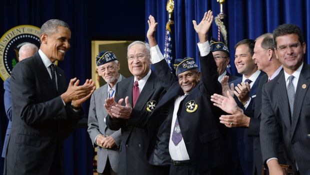 "Video: ""Borinqueneers"" premiados por Obama"