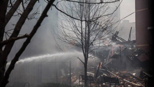 Video: Explosión en NY deja cuatro muertos