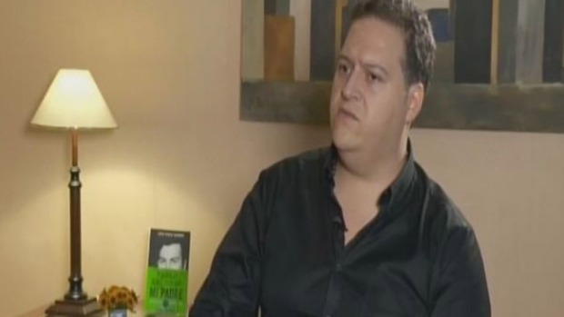 Video: Hijo de Pablo Escobar señala a la DEA