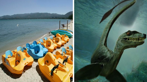 Video: Aterrador monstruo en Lake Tahoe