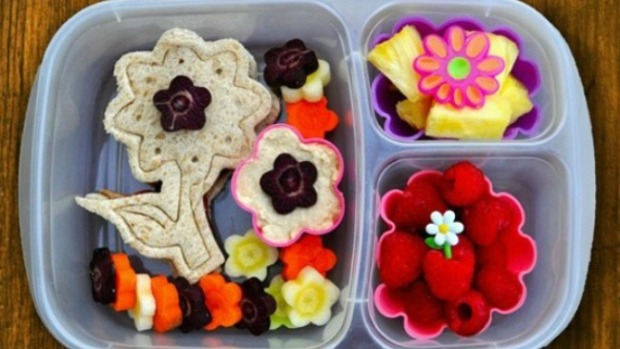 Snacks creativos y saludables para la escuela
