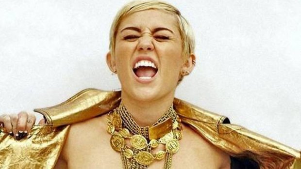Video: La foto más horrorosa de Miley Cyrus