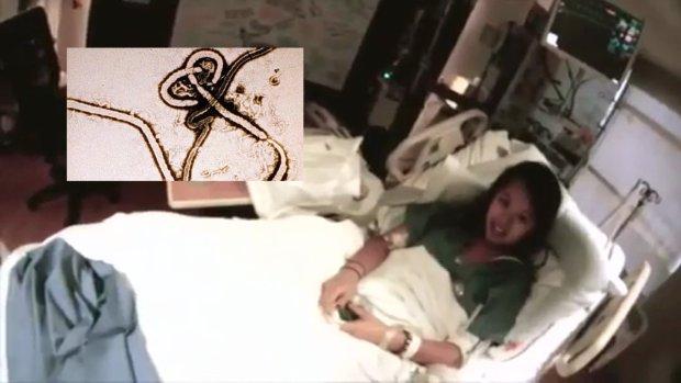 Video: Video: Pham en su cuarto de hospital