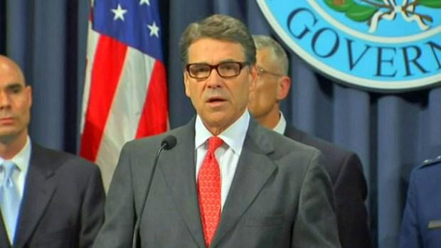 Video: Perry: Guardia Nacional a la frontera