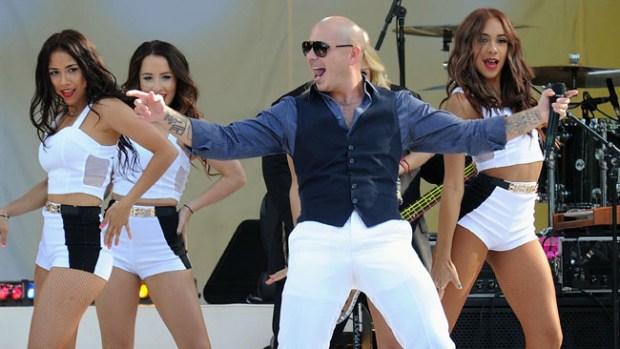 Video: Fotos: Pitbull de joven... ¡tenía pelo!