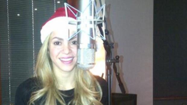 Video: Shakira ya está lista para la Navidad