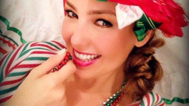 Video: Thalía, sexy mexicana de pies a cabeza