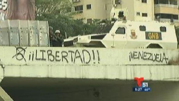 Video: Venezuela: reprimen manifestaciones