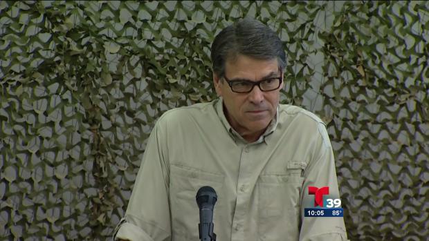 Video: Perry quiere acabar con narco-terroristas