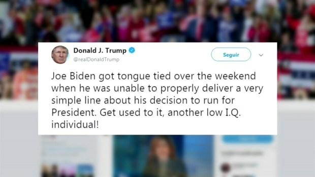 [TLMD - LV] Trump critica a Joe Biden y dice que tiene bajo coeficiente intelectual