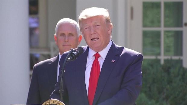Trump inaugura su Comando Espacial en la Casa Blanca