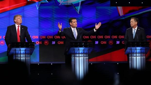 Los precandidatos republicanos a la presidencia