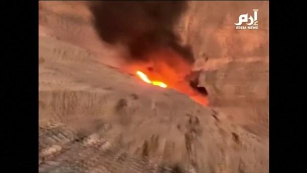 [TLMD - LV] Captado en video el momento en que se estrella helicóptero