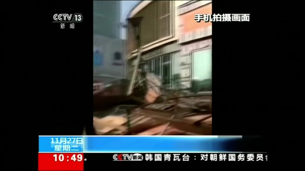 [TLMD - LV] Publicidad aplasta a varios peatones en China