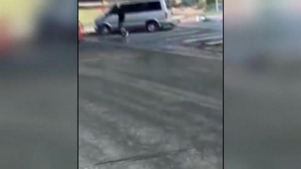 [TLMD - MIA] Hombre acusado de querer atropellar a mujer frente a escuela