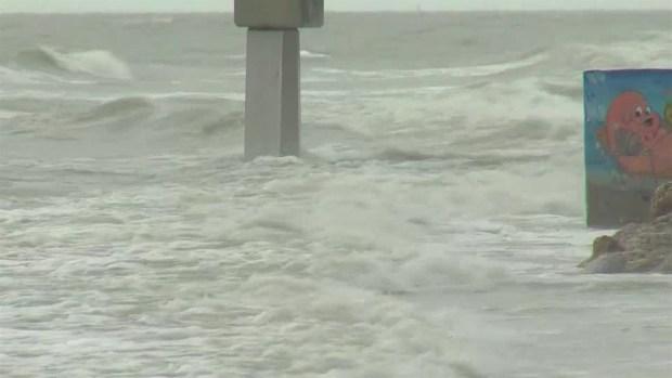 [TLMD - MIA] Aumenta el viento y la marejada en las costas del Golfo