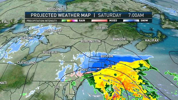 Dos tormentas de nieve impactan la región el fin de semana