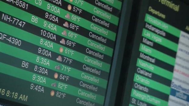 [TLMD - NATL] Miles de vuelos cancelados por la tormenta