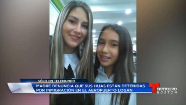 [TLMD - Boston] Madre denuncia que sus hijas fueron detenidas por inmigración en aeropuerto Logan
