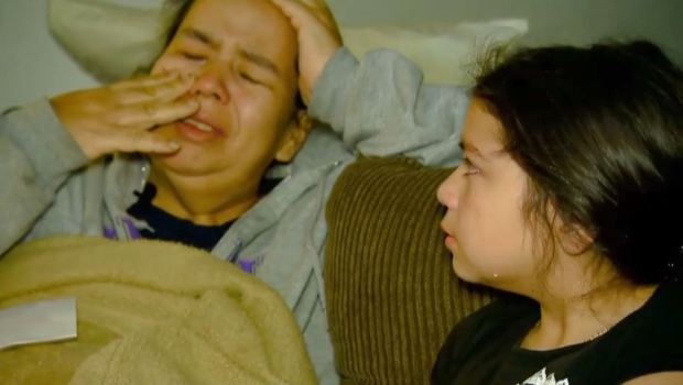 Madre moribunda teme dejar sola a su hija