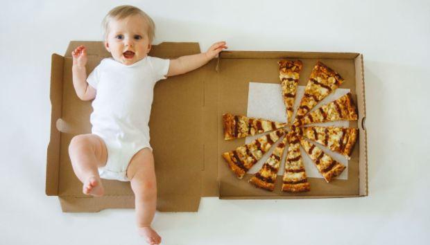 """[TLMD - NATL] Viral: """"Pizza baby"""" se roba corazones en internet"""