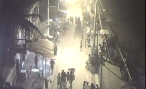 [TLMD - NATL] Videos de cómo se sintió el fuerte temblor en Ecuador