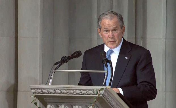 [TLMD - LV] Discurso de G.W. Bush en el funeral de McCain