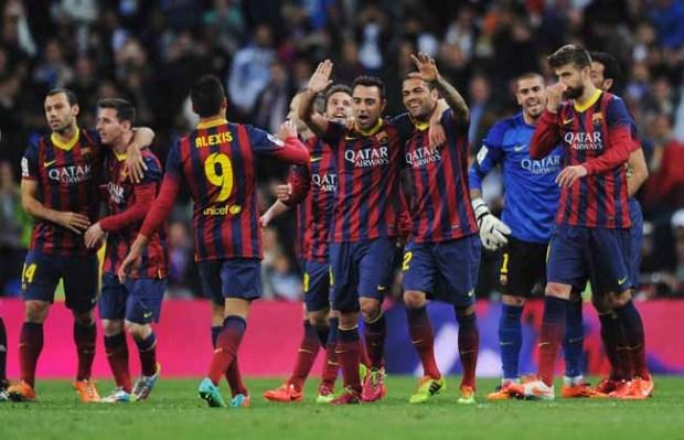 Video: Lujoso regalo a jugadores del Barça