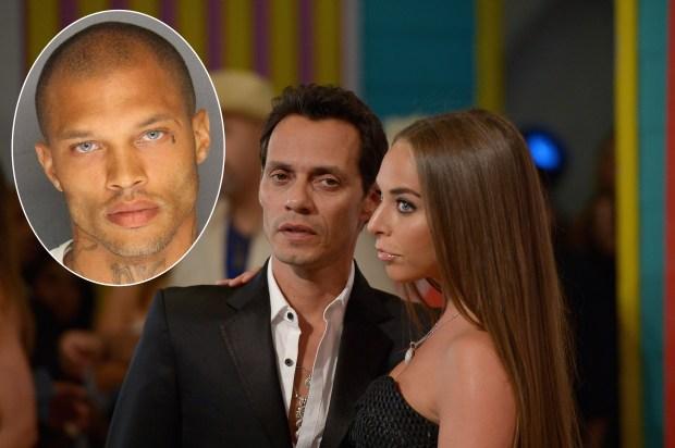 """El """"preso más guapo"""" esperaría bebé con ex de Marc Anthony"""
