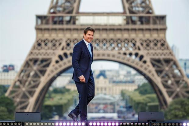 """""""Tuvimos cuidado de no destrozar París"""", Cruise estrena su nueva Misión Imposible"""