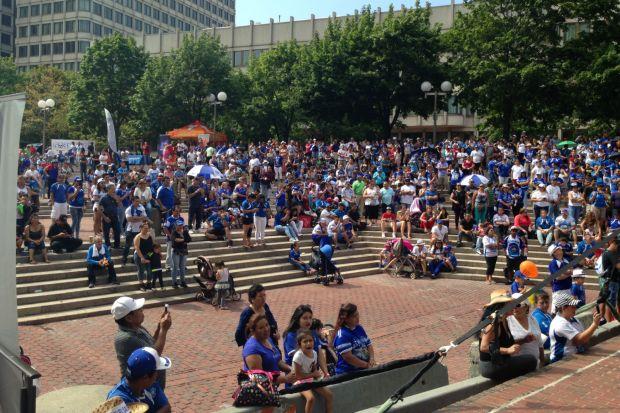 Telemundo Boston dijo presente en el Festival Salvadoreño
