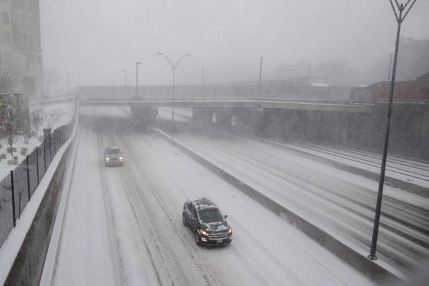 Hora por hora y totales de nieve de la cuarta tormenta