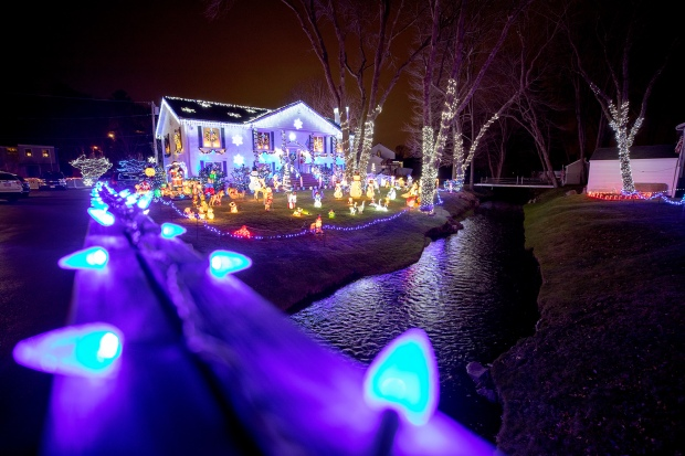 Las mejores luces navideñas en Massachusetts