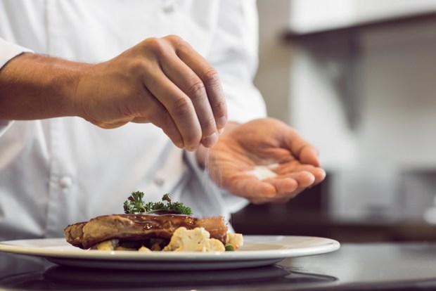 Las comidas de restaurantes con más sodio