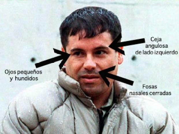 """En fotos: las caras del """"Chapo"""" Guzmán"""