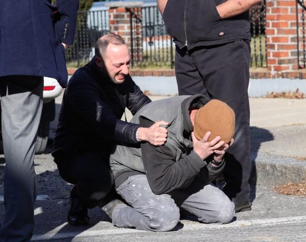Estremecedoras imágenes de la escena del homicidio en Everett