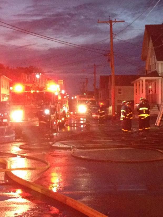 Galería: Vigilia por víctimas de incendio
