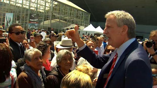 [TLMD - NY] Bill de Blasio, aspirante demócrata a la presidencia
