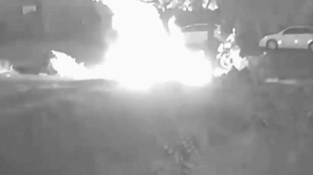 [TLMD - SD] Captan en video a sospechoso de piromanía