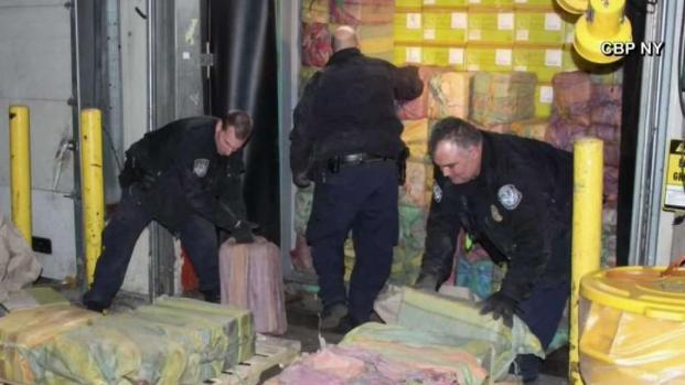 [TLMD - NY] Decomisan histórico cargamento de cocaína en NJ