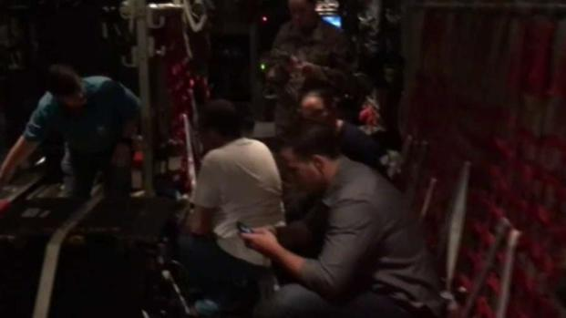 [TLMD - MIA] Dorian se ve desde un avión caza huracanes