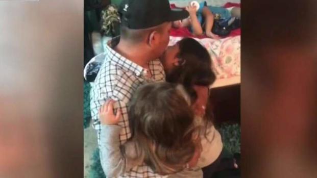 En video: padre de familia es arrancado de sus hijos