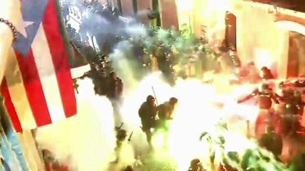 [TLMD - NY] Explosivas manifestaciones en Puerto Rico