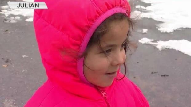 [TLMD - SD] Familia hispana visita la nieve por primera vez