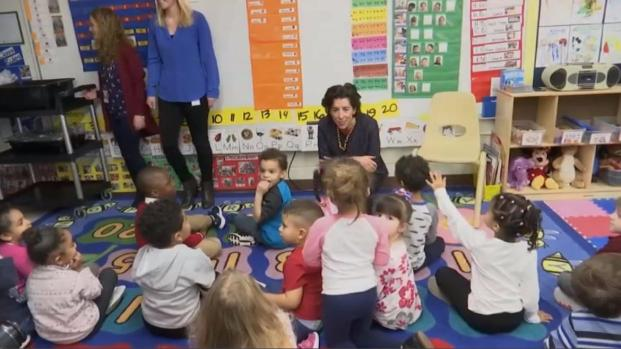 [TLMD - Boston] Gobernadora de Rhode Island quiere implantar preescolar universal