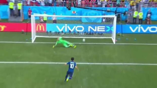 Japón sorprende a Colombia y se pone 1-0 con gol de penal