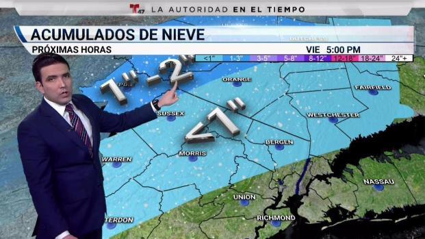 [TLMD - NY] Nieve a la vista en nuestra región