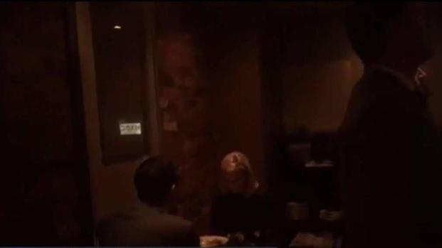 [TLMD - SD] Protesta contra Secretaria de Seguridad en restaurante