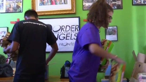 [TLMD - SD] Sandieguinos organizan ayuda para los migrantes